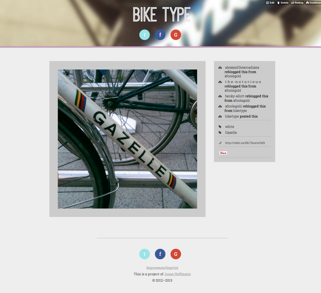 Bike Type Pageview